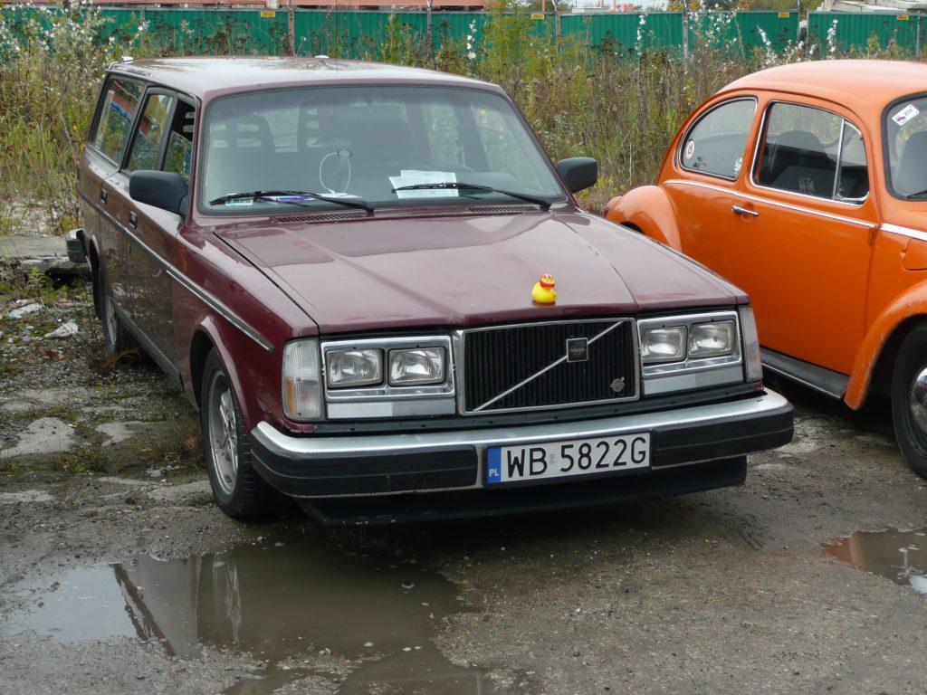 Piękne Volvo z manifestem?